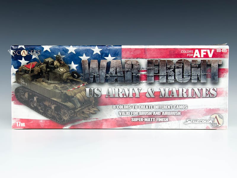 Scale75 Warfront - US Army and Marines Paint Set