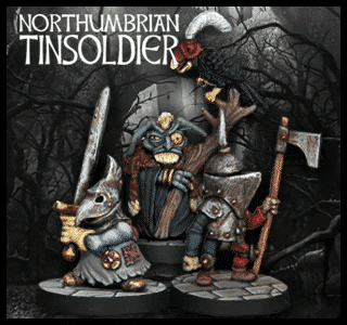 Northumbrian Tin Soldier