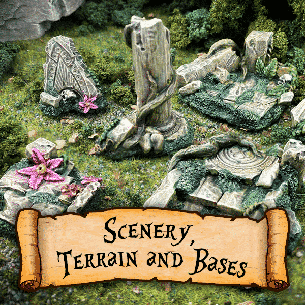 Scenery, Terrain and Bases