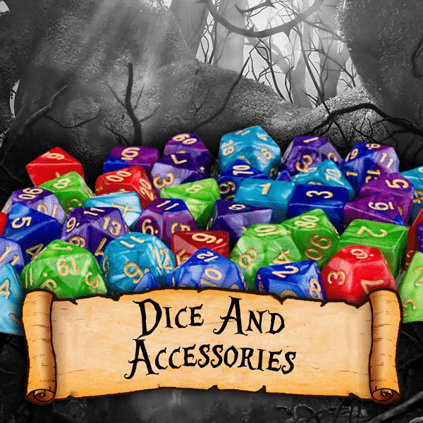 RPG Dice and Accessories