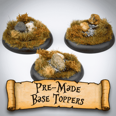 Pre-made Base Toppers