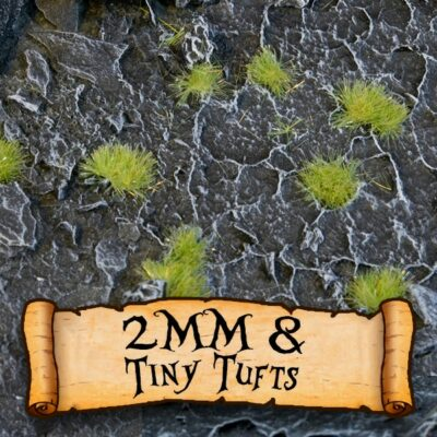Gamer's Grass 2mm Tufts & Tiny Tufts