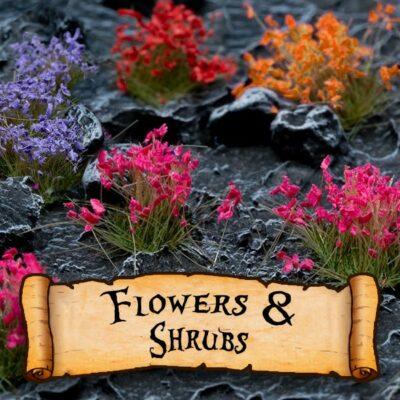 Gamer's Grass Flowers & Leaves